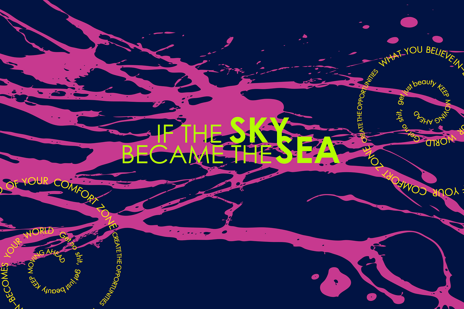 «If the Sky Became the Sea»